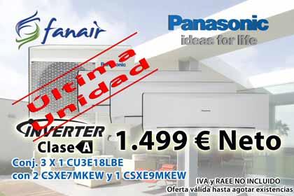 Liquidación CU3E18LB con 2 CSXE7MKEW y 1 CSXE9MKEW A 1499 € neto.