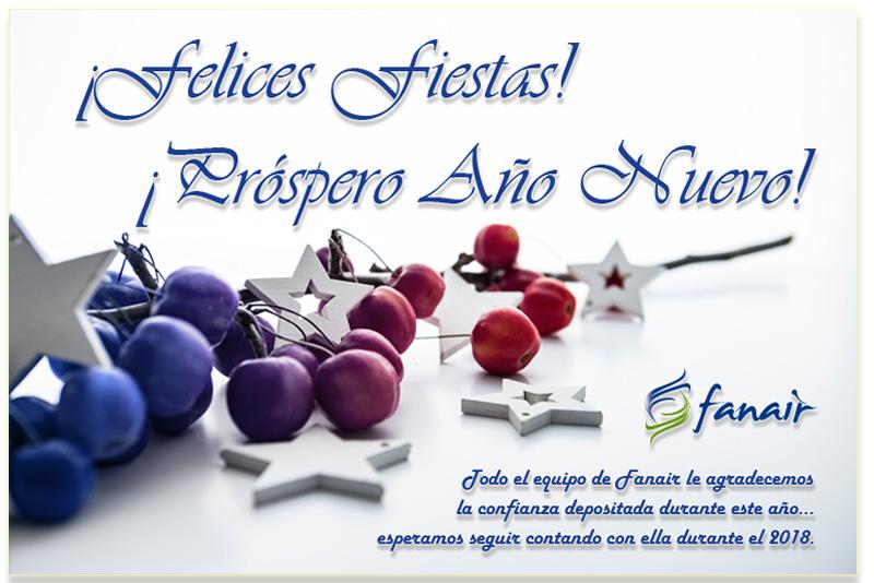 Felices Fiestas desde Fanair