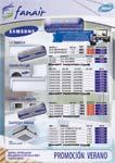 Promoción Ofertas Fanair Aire Acondicionado Verano 2012