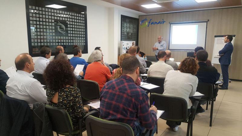 Charla sobre el nuevo REGLAMENTO DE INSTALACIONES DE PROTECCIÓN CONTRA INCENDIOS (RIPCI) desarrollada en Fanair el 18/10/17