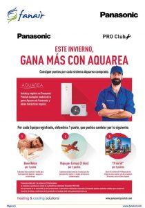 Consigue puntos con la Aerotermia de Panasonic en el PRO Club.