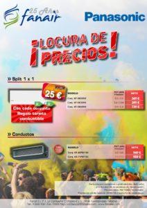 Locura de precios en PANASONIC