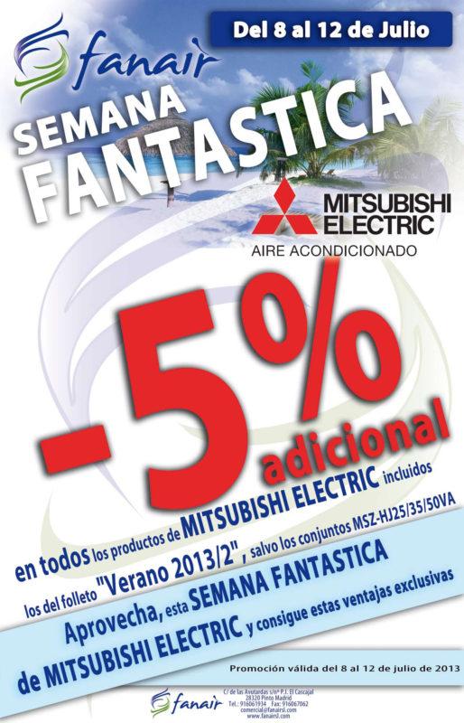 Semana Fantástica Mitsubishi Electric en Fanair.
