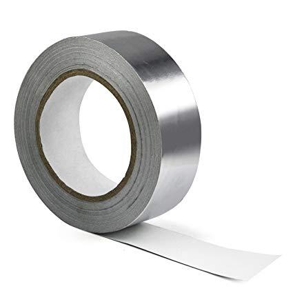 cinta polipropileno aluminizada