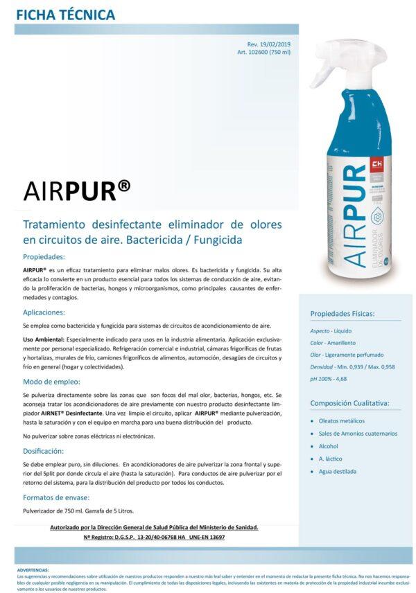 Ficha Técnica AIRPUR