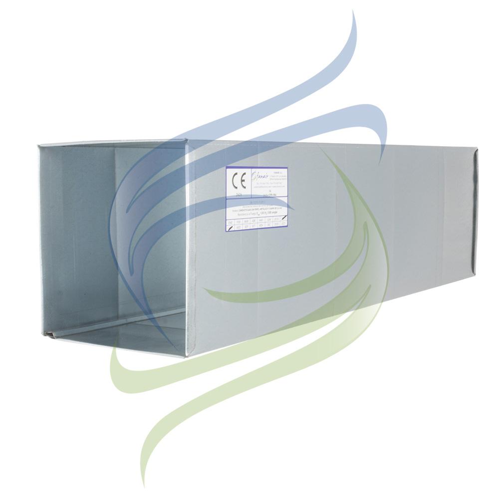 conducto rectangular vaina sin aislar marcado CE