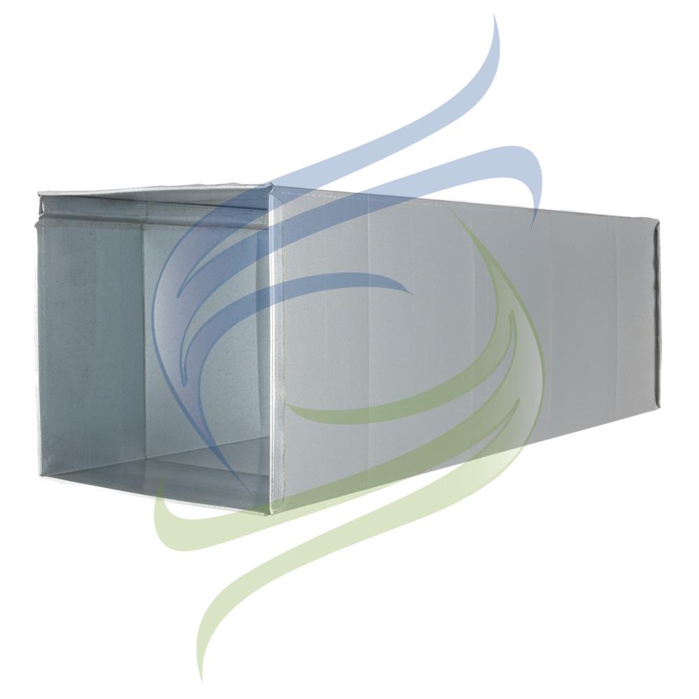 conducto rectangular vaina