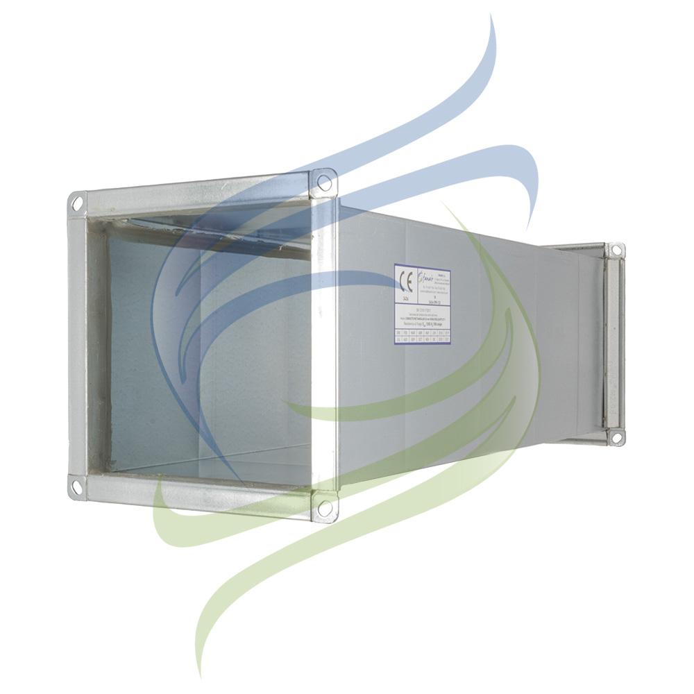 conducto rectangular perfil integral marcado CE
