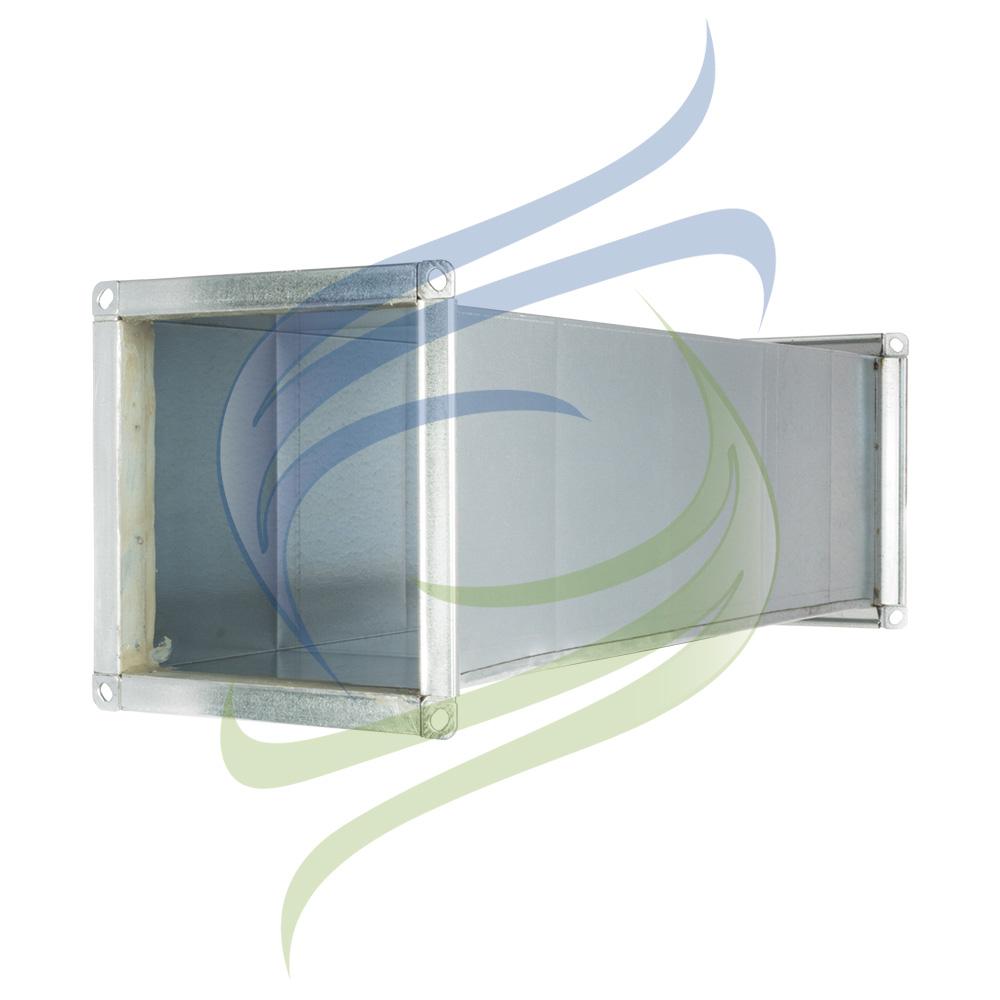 conducto rectangular perfil integral