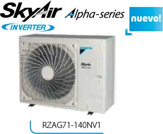 SKY AIR ALPHA SERIES RZAG71-140NV1 R-32