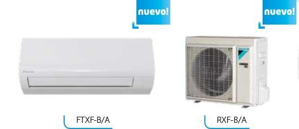 Nuevas sensira FTXF25B Y FTXF35A