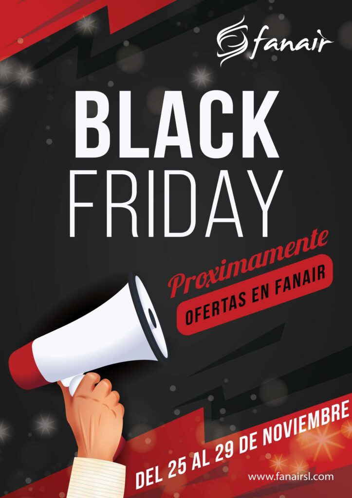 Black Friday en Fanair