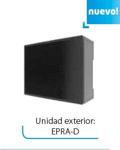 Unidad exterior EPRA-D DAIKIN Altherma