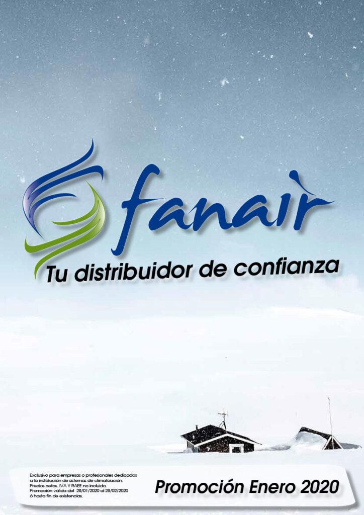 Promocion maquinas FANAIR Enero 2020