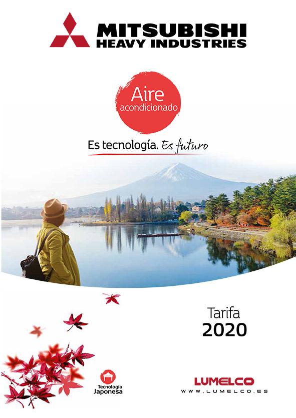Portada tarifa MHI 2020