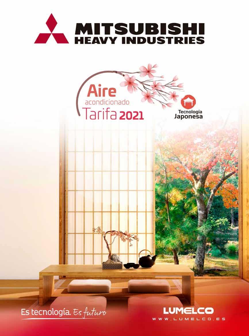 Portada Tarifa Mitsubishi Heavy Industries 2021