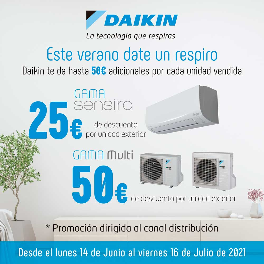 Promo Respiro Daikin