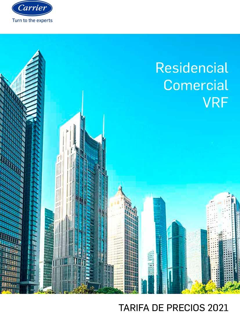 Tarifa Carrier Residencial- Comercial - VRF 2021