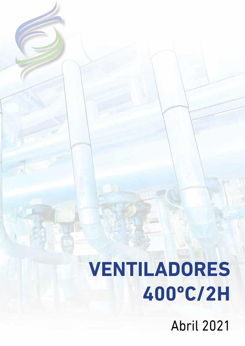 Tarifa ventiladores 400ºC/2H Fanair
