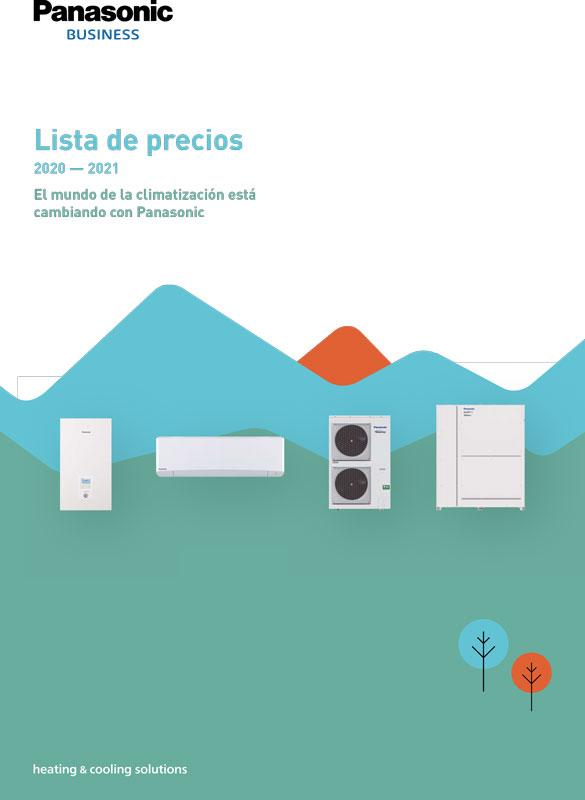 Tarifa PANASONIC 2020