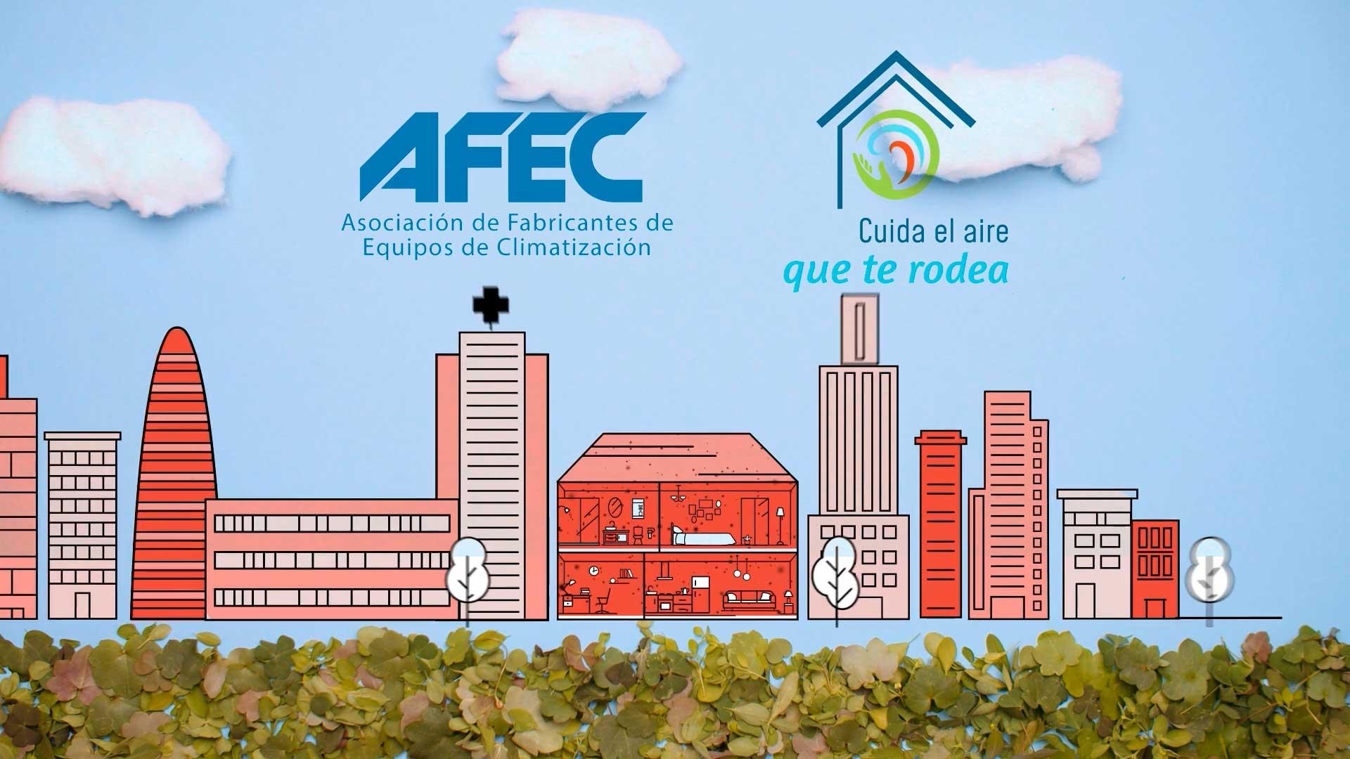 Campaña AFEC. Cuida el aire que te rodea.