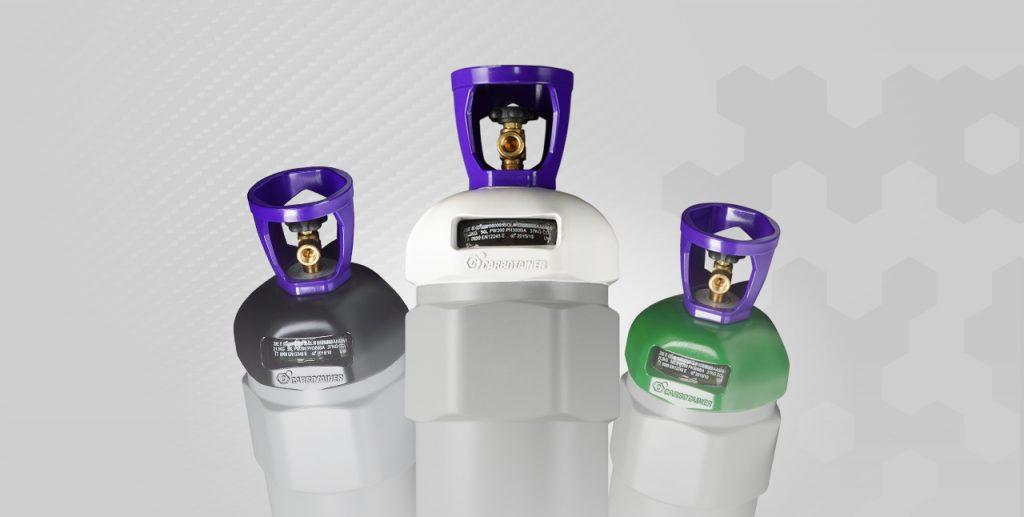 Nuevas botellas Carbotainer de fibra de carbono