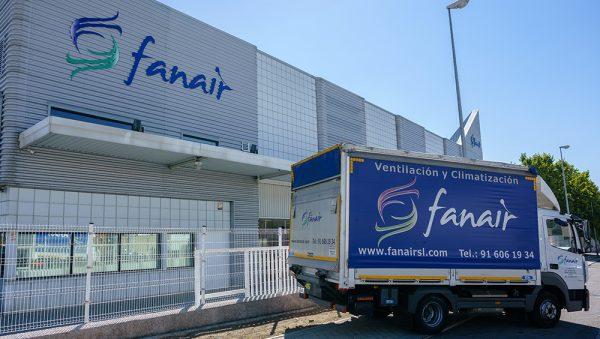 Fachada FANAIR