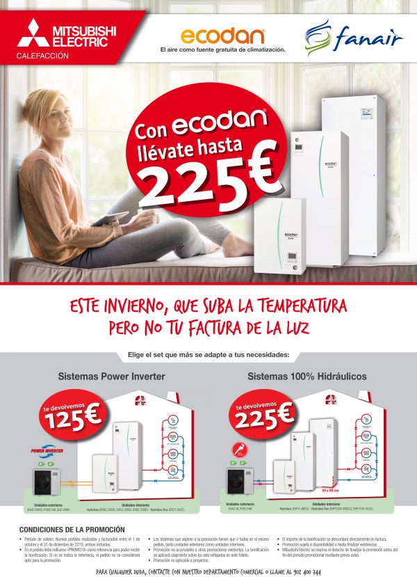 Mitsubishi Electric ECODAN.