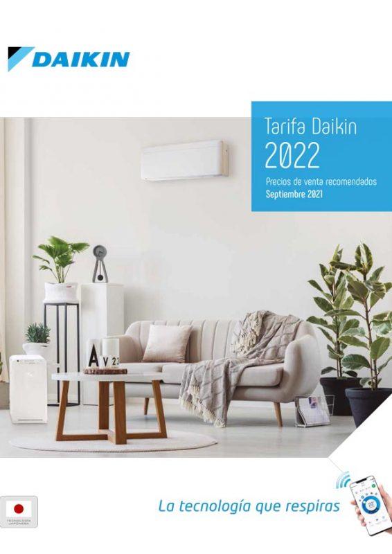 Avance Tarifa DAIKIN 2022