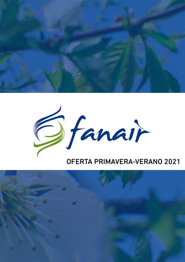 Oferta primavera-verano 2021 FANAIR