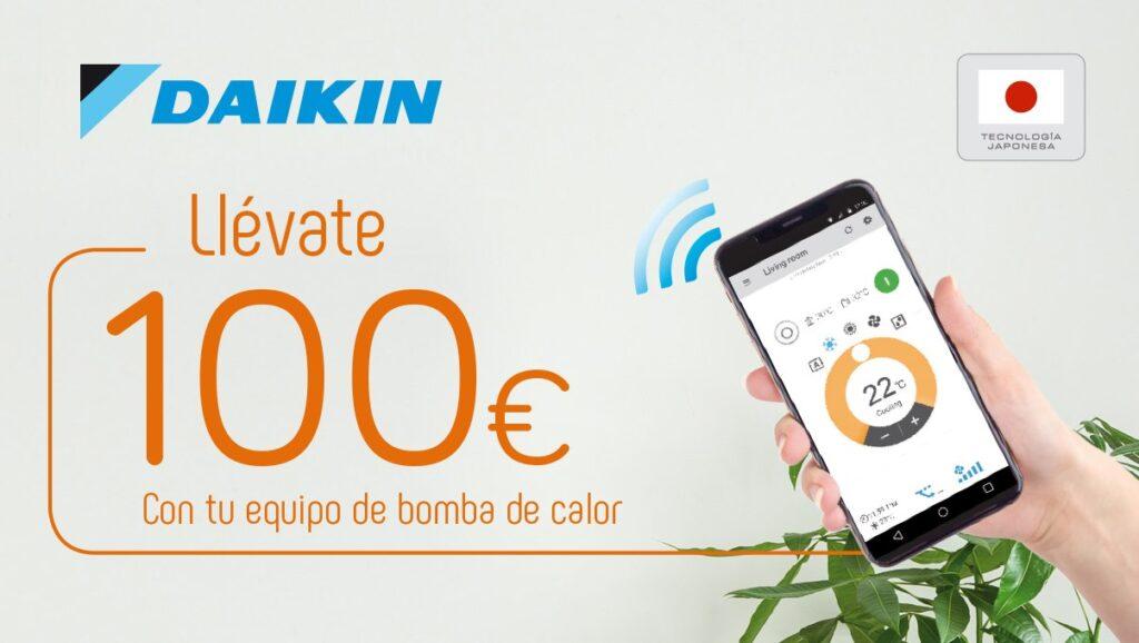 """Ahora en otoño """"Haz Daikin"""" y consigue 100 €."""