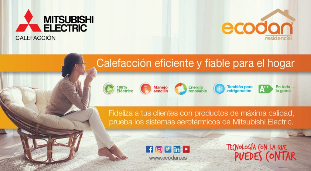 POP-UP Ecodan Mitsubishi Electric