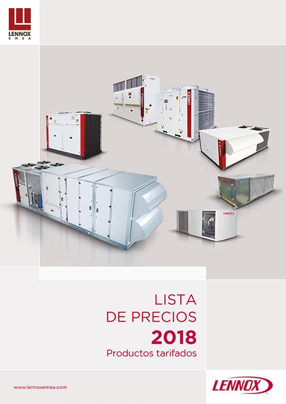 portada tarifa Lennox 2018