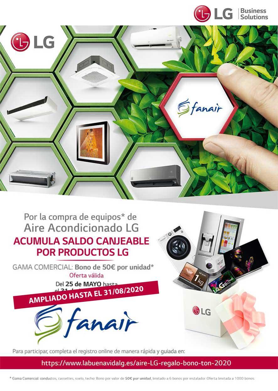 Promoción LG aire acondicionado