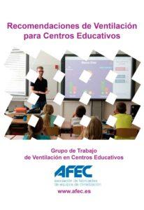 Recomendaciones AFEC de ventilación en centros educativos